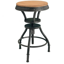 "БАРНЫЙ СТУЛ ""INDUSTRIAL ADJUSTABLE HEIGHT BAR STOOL"""