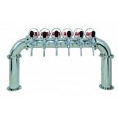 Пивная колонна  ARES SMALL, сталь, 6 выходов