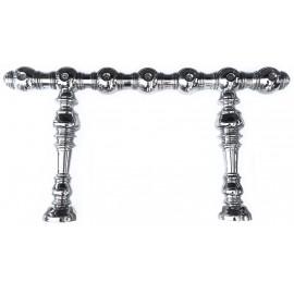 Пивная колонна CELINE, латунь, покрытие хром, 7 выходов