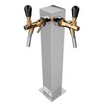 Пивная колонна АРГО из нерж. стали под краны на 1-2  выход